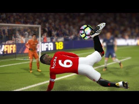 FIFA 18 | TOP 10 BEST GOALS | FT. SCORPION,RABONA-FREEKICK   , FREE KICKS#1