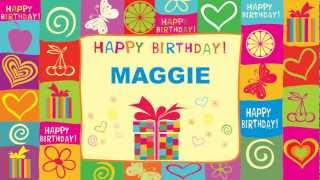 Maggie - Animated Cards - Happy Birthday