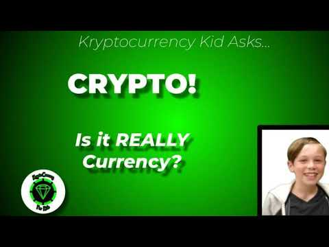 Crypto! Is it a Currency?