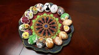 Три оригинальных  способа украсить яйца на пасху. Такого нет на ютубе