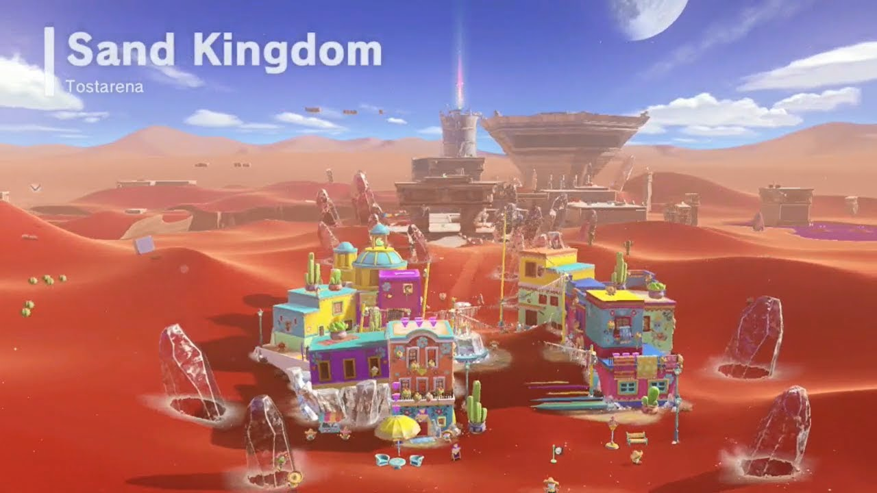 Super Mario Odyssey Guide: Coins Cheats, Power Moons, Purple