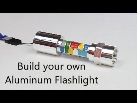Build your own Aluminum Flashlight