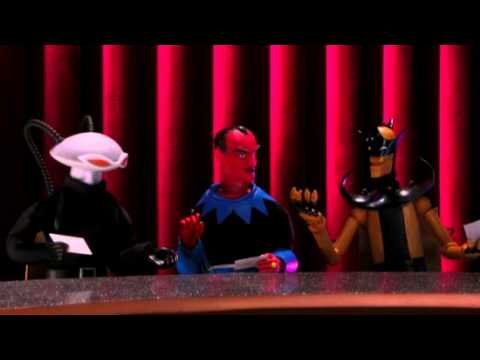 Legion of Doom Plays Secret Santa on ROBOT CHICKEN DC