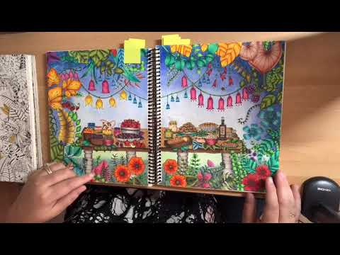 flipthrough-of-all-completed-coloring-book-pages