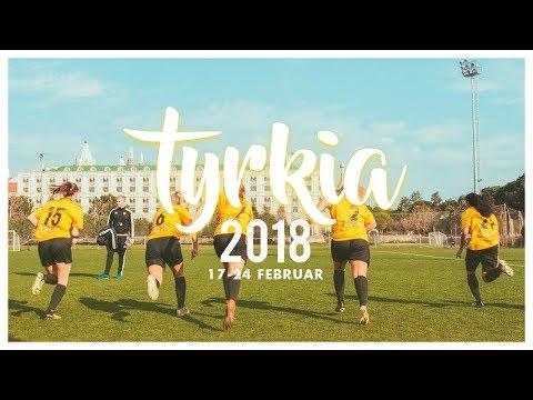 Bærum SK Kvinner: Treningsleir Antalya 2018