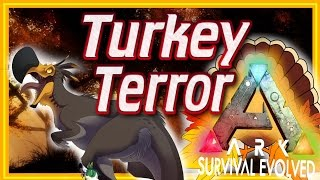 ARK: Turkey Terror - Thanksgiving! Tameable Dodo-Rex, Terror Bird, Oviraptor (ARK Turkey Trial)