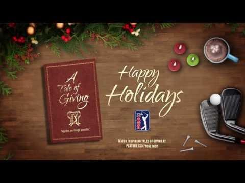 2014 PGA TOUR Holiday Card