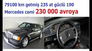 230000 avroya super 190 Mercedes-Benz 2.5-16 EVO 2 W201