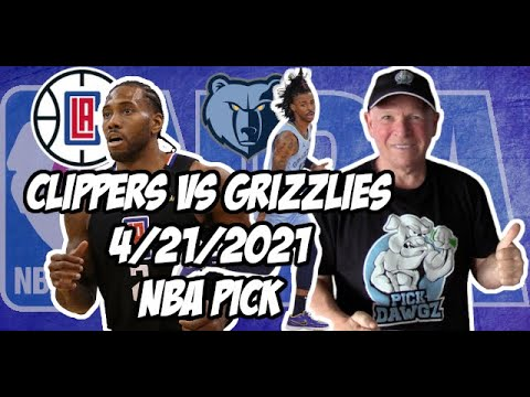 Los Angeles Clippers vs Memphis Grizzlies 4/21/21 Free NBA Pick and Prediction NBA Betting Tips