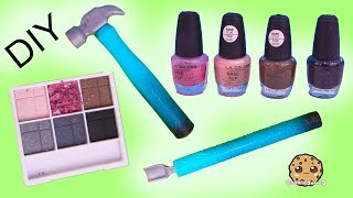 Download DIY Nail Polish From Eyeshadow Makeup Palette ?! Easy Do It Yourself Craft Video Mp3 and Videos