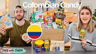 *EPIC* British People Trying Colombian Candy  This With Them