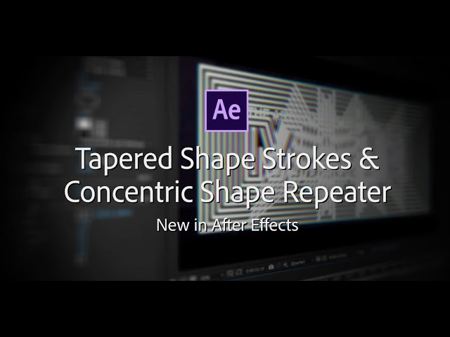 New Shape Features in After Effects Spring 2020   Adobe Creative Cloud