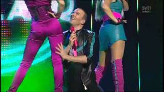 Alcazar - Stay The Night (Live @ Melodifestivalen 2009 Semi - REPRISE)