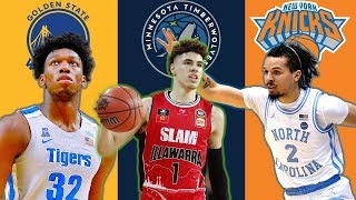Official 2020 NBA Mock Draft
