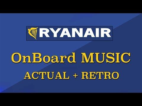 RYANAIR | 2017 Onboard Music & Retro Announcements ✈