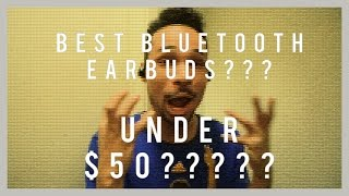 Best Bluetooth Earbuds Under $50: Soundpeats Q16 Review/First Impressions