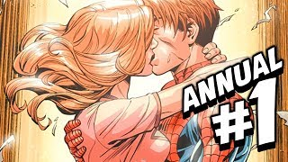 Ultimate Spider-Man (Peter Parker) ANNUAL Issue #1 Full Comic Review!