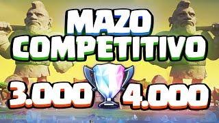 ¡GIGANTE CON DOBLE ESBIRRO! Mazo competitivo para 3.000 - 4.000 trofeos | Clash Royale