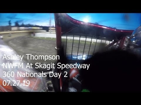 Ashley Thompson at Skagit Speedway:360 Nationals Day 2