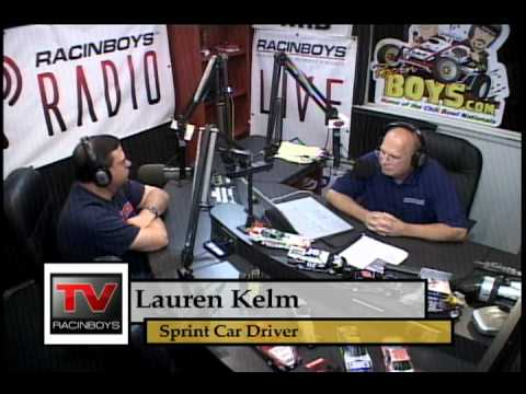 RacinBoys Lauren Klem on Track Talk Jul28