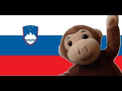 Globe Monkey goes skiing in Slovenia