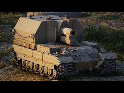 World of Tanks Conqueror Gun Carriage - 4 Kills 8,7K Damage