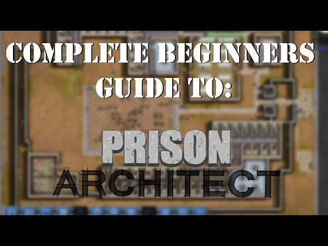PRISONER INTAKE! | Complete Beginners Guide to Prison Architect #4 | Nic 360