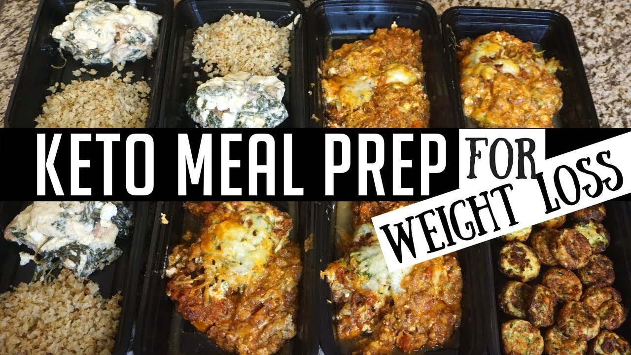 KETO MEAL PREP FOR WEIGHT LOSS | LOW CARB MEALS | KEILA ...