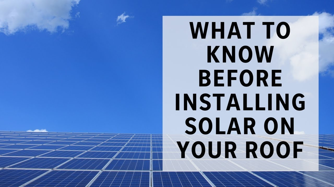 pro tips: what to consider before installing solar panels on your house