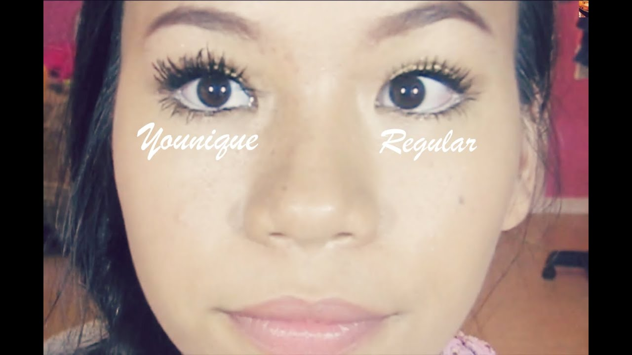 Younique Moodstruck 3D Fiber Lashes- First Impression - YouTube