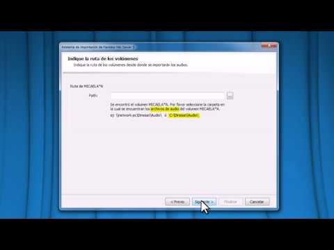 TIPS HARDATA - HARDATA Dinesat Radio 9 - Importación de materiales: HDX Server 3 Importer