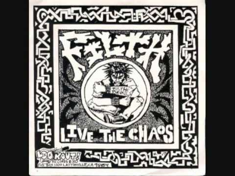 filth - live the chaos 7""