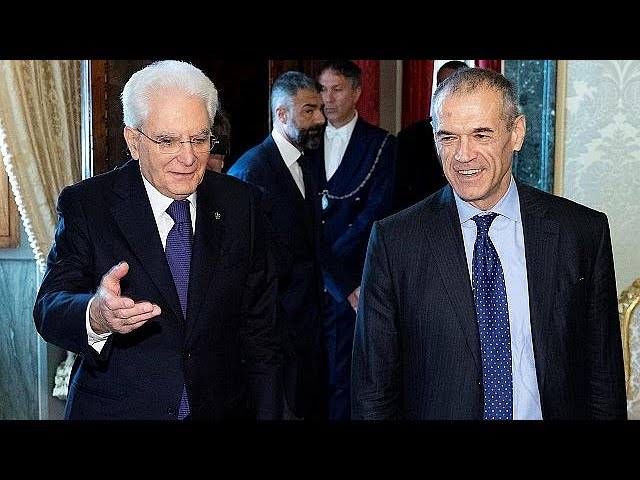 Italians uncertain over appointment of interim prime minister