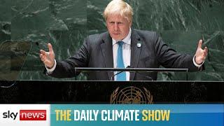 What are Boris Johnson's COP26 priorities?
