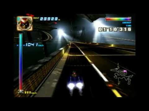 """F-Zero GX Story Mode - Chapter 6 Very Hard 2'25""""819 (No Collision Boost)"""