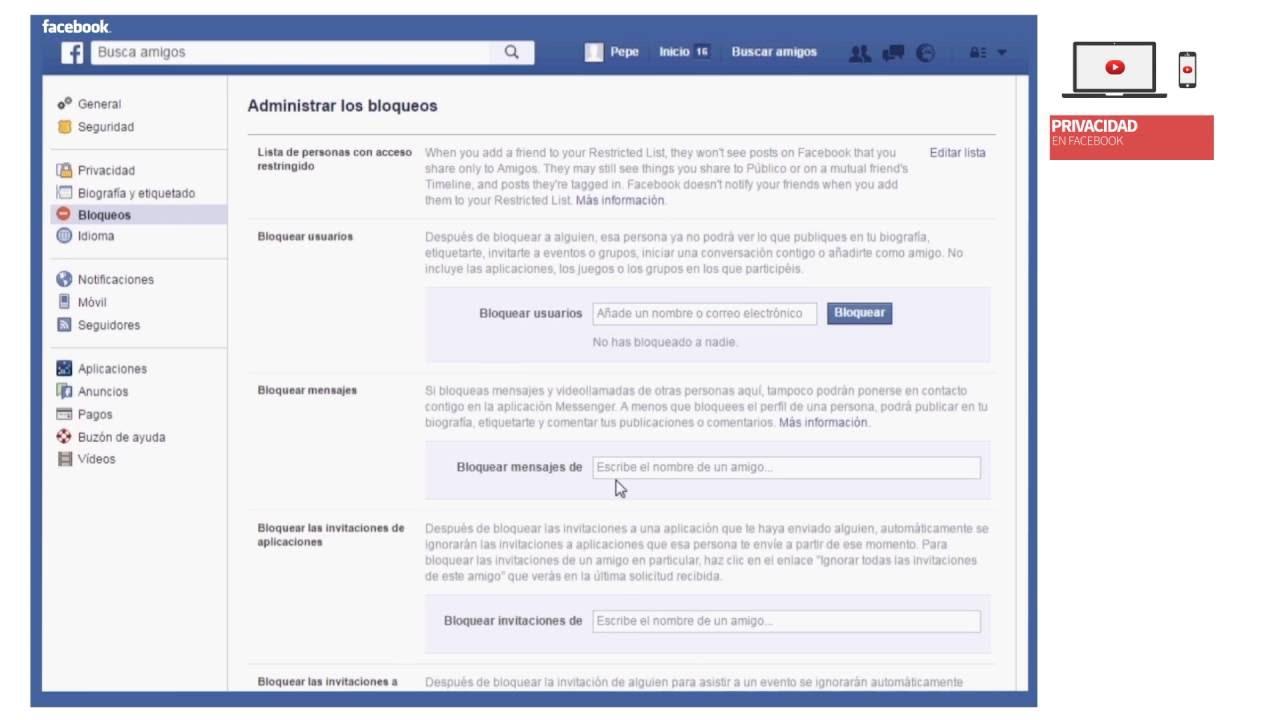 Configurar privacidad mis fotos nuevo facebook 42