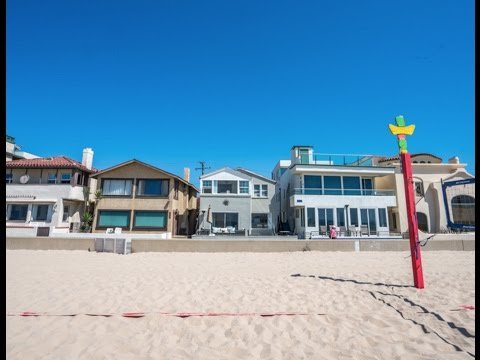 Beach Front Opportunity: 1614 The Strand, Oceanview Home For Sale in Hermosa Beach, CA 90254