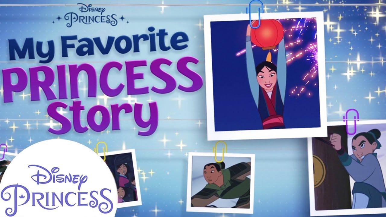 Mulan's Princess Story!   Disney Princess