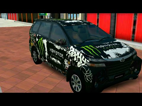 Toyota Avanza Facelift Livery Bussid Bus Simulator Youtube