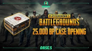 PLAYERUNKNOWN'S BATTLEGROUNDS - 25000BP Case Opening / Открытие Pioneer кейсов