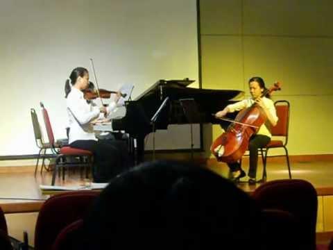 Astor Piazzolla - Oblivion (Piano Trio)