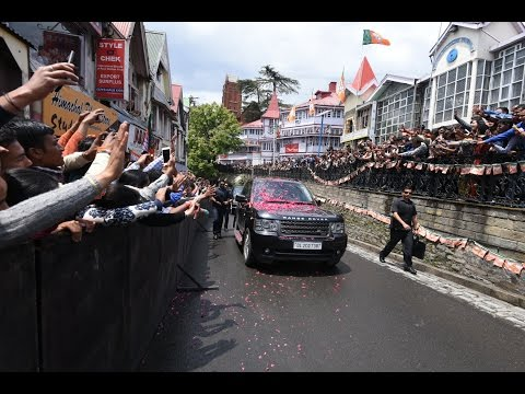PM Modi's public reception and speech in Shimla, Himachal Pradesh