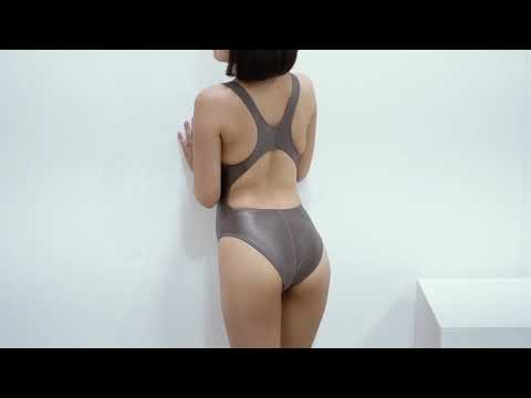 LEOHEX swimsuit and Tights BROWN