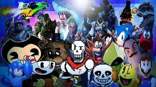 Video Game Legends Rap Vol 3