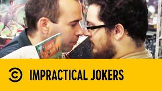 How To Eskimo Kiss A Stranger | Impractical Jokers
