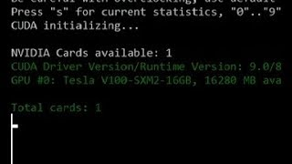 Attempting to Mine ETH/ZEC/XMR with an Nvidia Tesla V100 (Attempt 2)