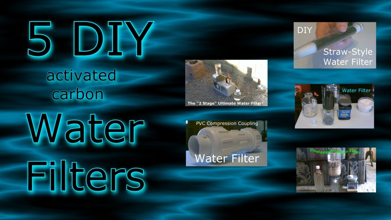 5 Homemade Water Filters Compilation Vid Diy Water Purifiers All Easy Diy