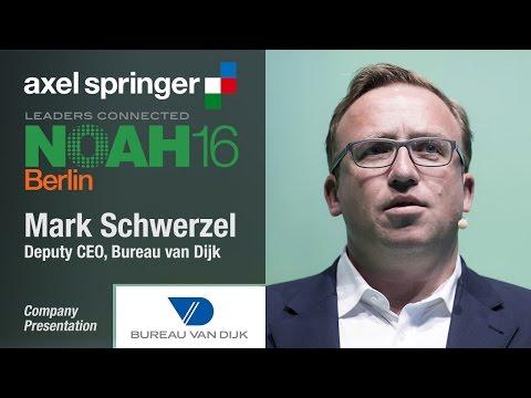 Mark Schwerzel, Bureau van Dijk - Axel Springer NOAH16 Berlin