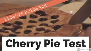 Sandra Lee Semi-Homemade Cherry Pie Test