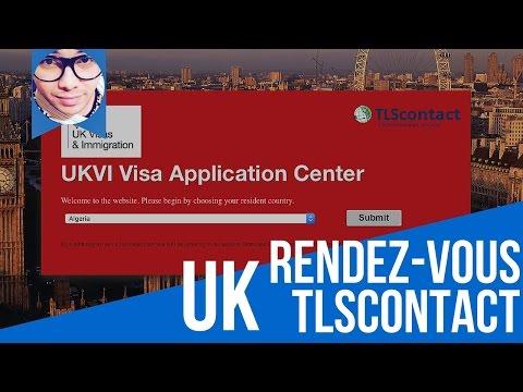 Rendez-vous TLScontact UK Algérie